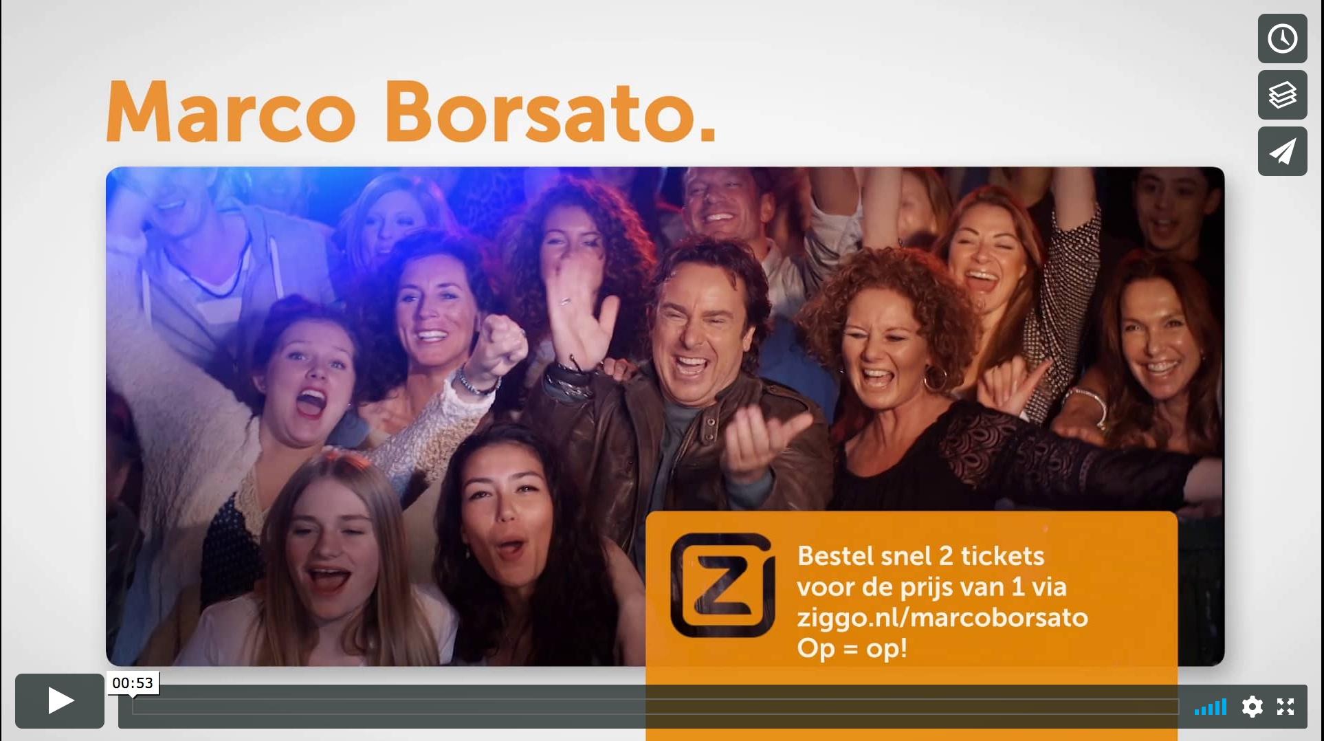 Marco Borsato Ziggo tour